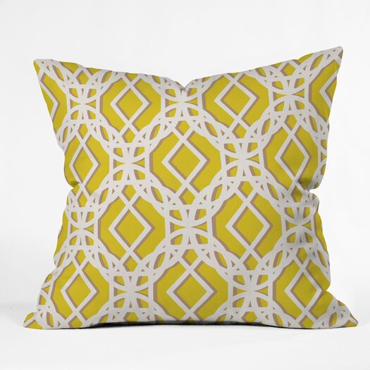 DENY Designs Aimee St Hill Diamonds Throw Pillow