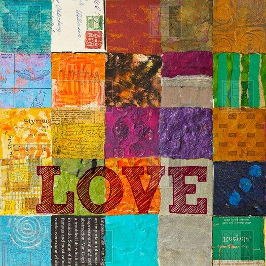 DENY Designs Elizabeth St Hilaire Nelson Love Shower Curtain
