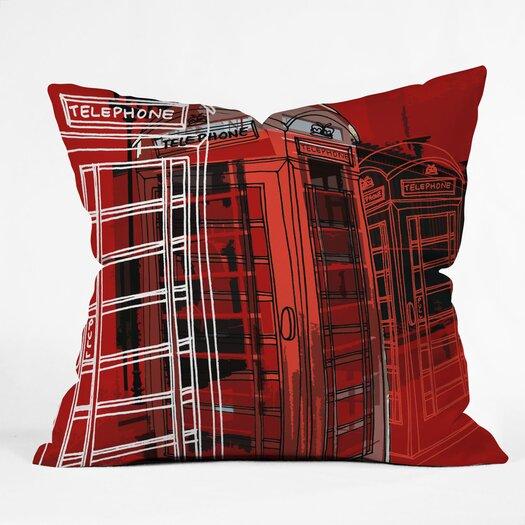 DENY Designs Aimee St Hill Phone Box Throw Pillow