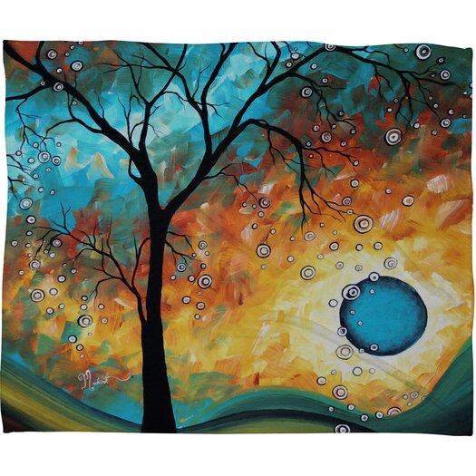 DENY Designs Madart Inc. Aqua Burn Throw Blanket
