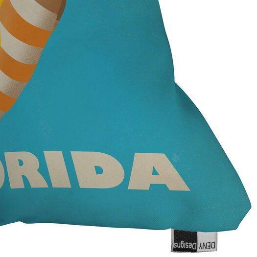 DENY Designs Anderson Design Group Dive Florida Throw Pillow