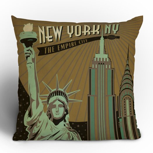 DENY Designs Anderson Design Group New York Throw Pillow
