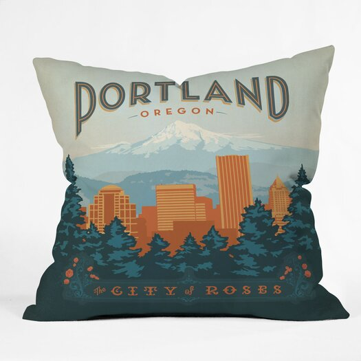 DENY Designs Anderson Design Group Portland Throw Pillow
