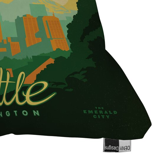 DENY Designs Anderson Design Group Seattle Throw Pillow