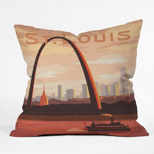 DENY Designs Anderson Design Group Saint Louis Throw Pillow
