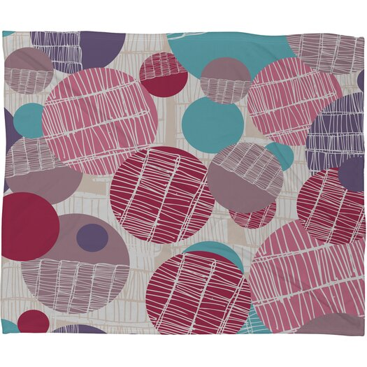 DENY Designs Rachael Taylor Textured Geo Throw Blanket
