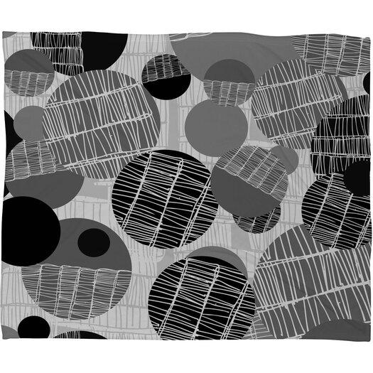 DENY Designs Rachael Taylor Textured Geo Throw Blanket