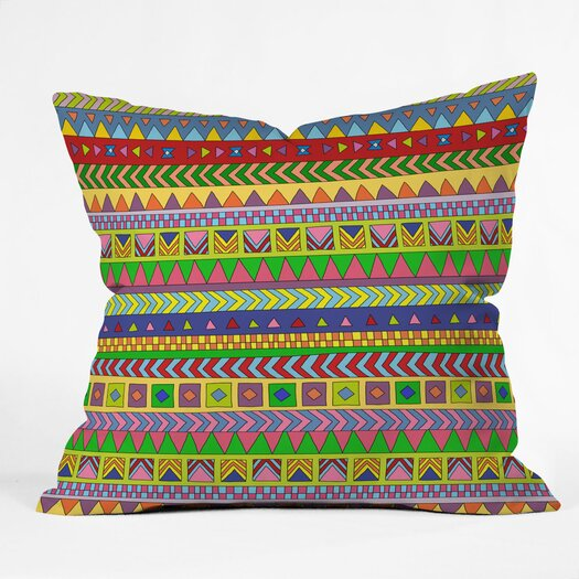 DENY Designs Bianca Green Forever Young Indoor/Outdoor Throw Pillow