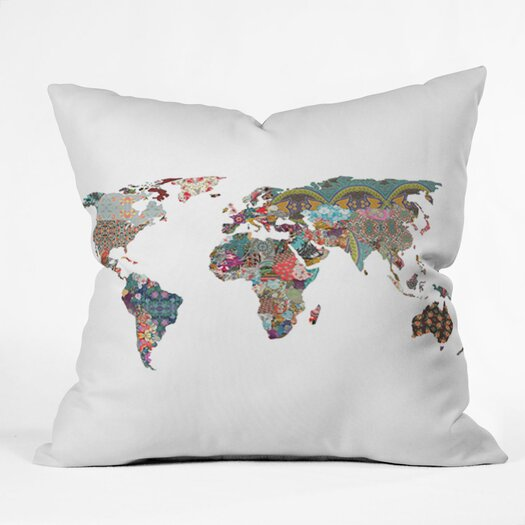 DENY Designs Bianca Green Louis Armstrong Told Us So Indoor/Outdoor Throw Pillow