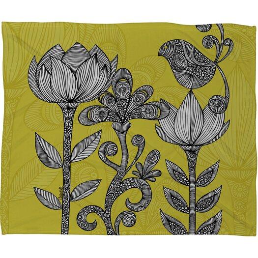 DENY Designs Valentina Ramos Green Garden Throw Blanket