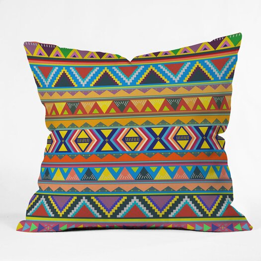 DENY Designs Bianca Green Play Indoor/Outdoor Throw Pillow