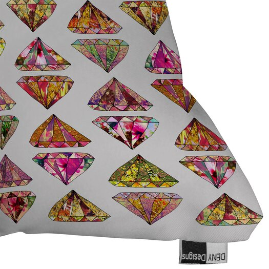 DENY Designs Bianca Green These Diamonds Are Forever Throw Pillow