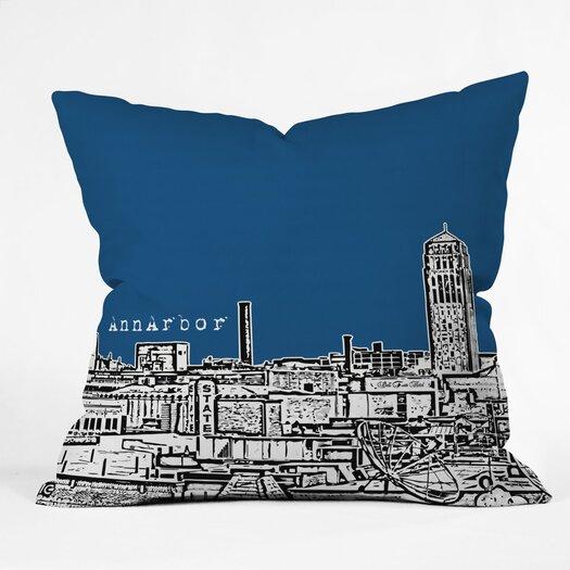 DENY Designs Bird Ave Ann Arbor Throw Pillow