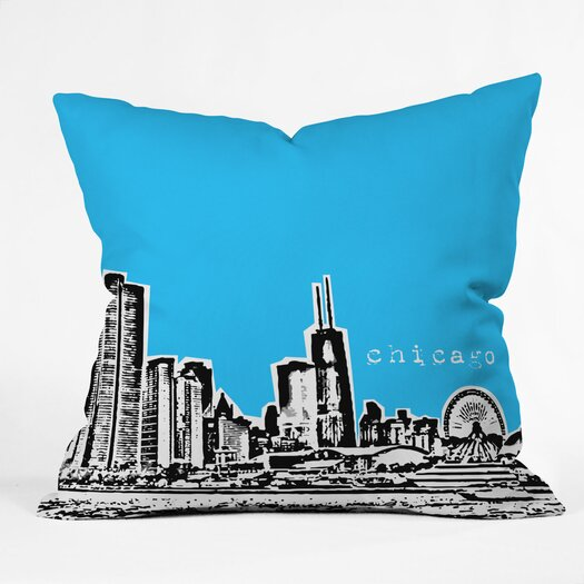 DENY Designs Bird Ave Chicago Indoor/Outdoor Throw Pillow