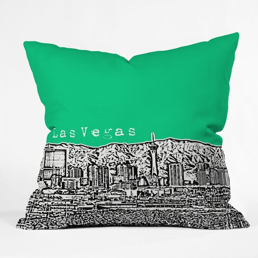 DENY Designs Bird Ave Las Vegas Throw Pillow