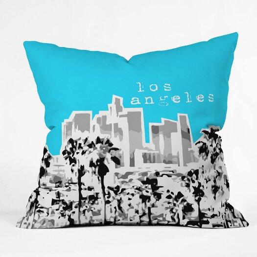 DENY Designs Bird Ave Los Angeles Indoor/Outdoor Throw Pillow