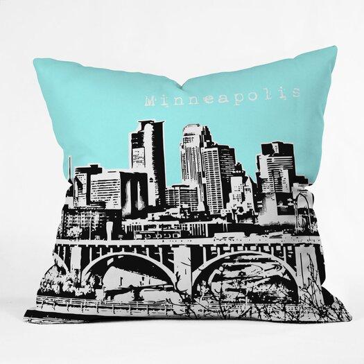 DENY Designs Bird Ave Minneapolis Indoor/Outdoor Throw Pillow