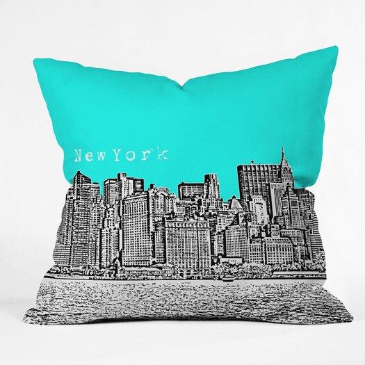 DENY Designs Bird Ave New York Throw Pillow