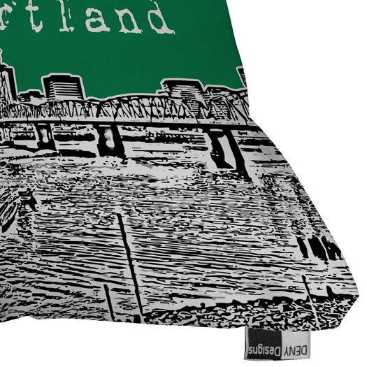DENY Designs Bird Ave Portland Throw Pillow