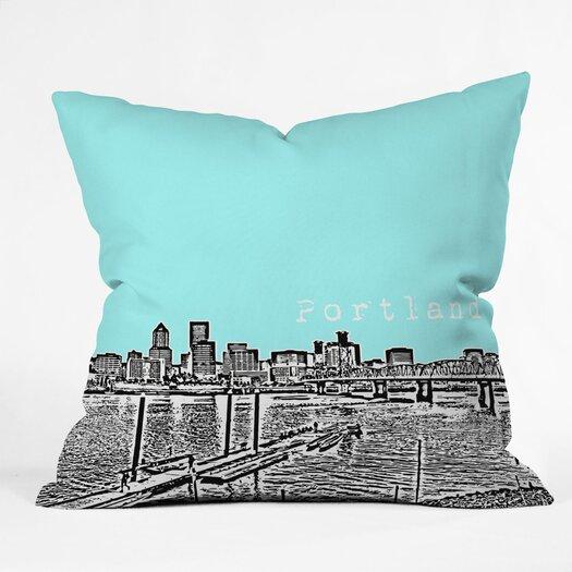 DENY Designs Bird Ave Portland Throw Pillow