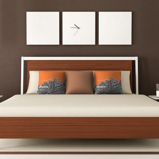 DENY Designs Bird Ave Princeton University Throw Pillow