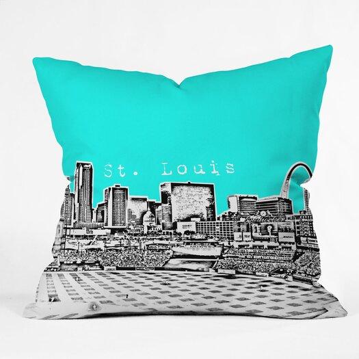 DENY Designs Bird Ave St Louis Throw Pillow
