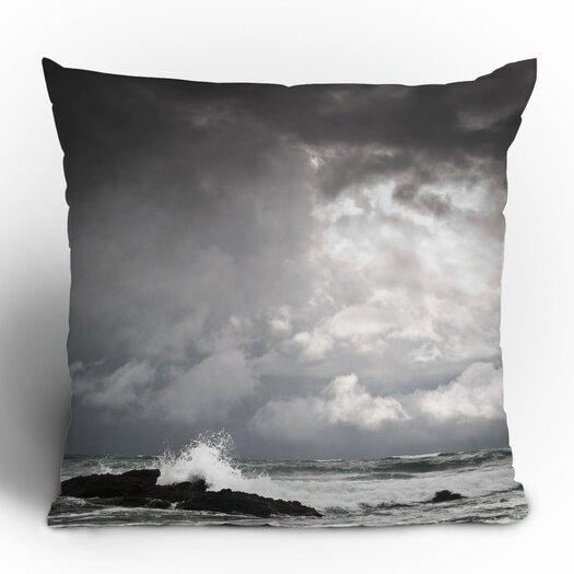 DENY Designs Bird Wanna Whistle Water Throw Pillow