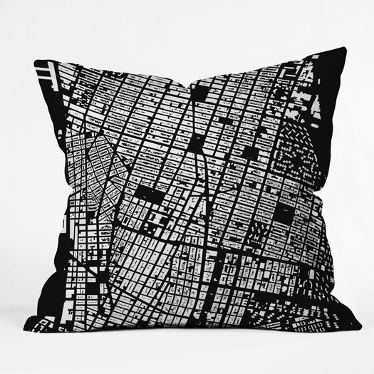 DENY Designs CityFabric Inc NYC Indoor/Outdoor Throw Pillow