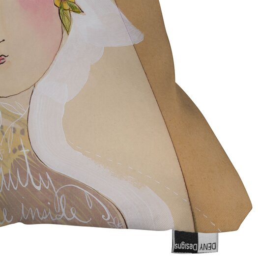DENY Designs Cori Dantini Beauty on the Inside Indoor/Outdoor Throw Pillow