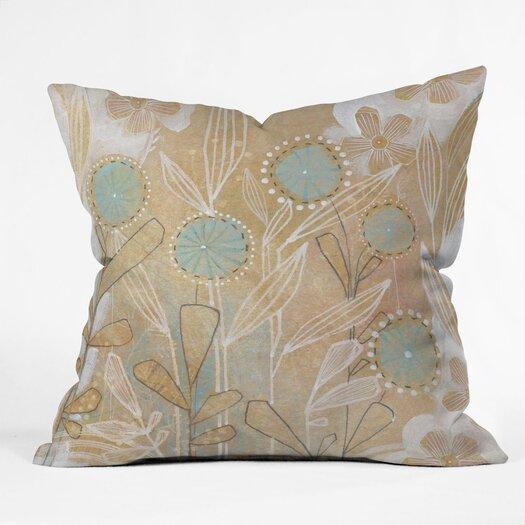 DENY Designs Cori Dantini Floral Throw Pillow