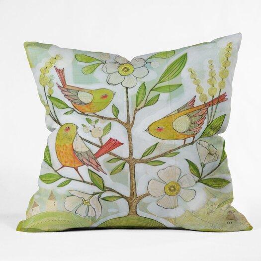 DENY Designs Cori Dantini Community Tree Indoor/Outdoor Throw Pillow