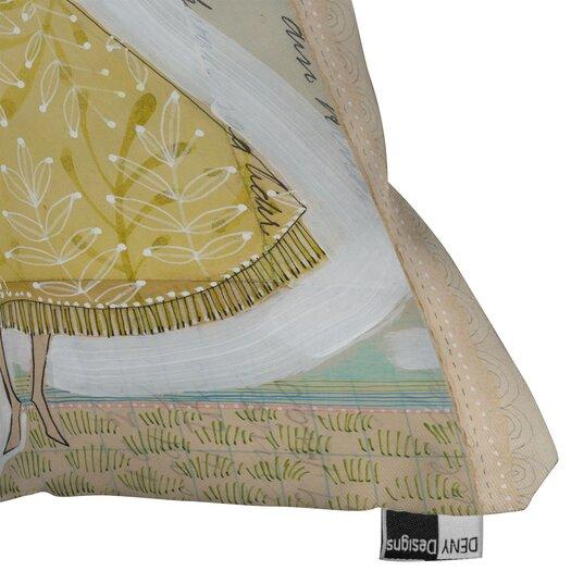 DENY Designs Cori Dantini Make A Little Memory Indoor/Outdoor Throw Pillow