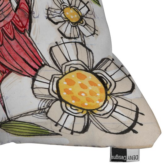 DENY Designs Cori Dantini Not a Turkey Throw Pillow