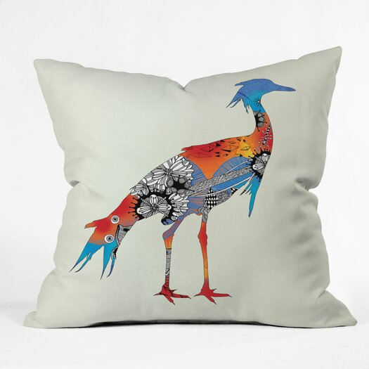 DENY Designs Iveta Abolina Bird Throw Pillow