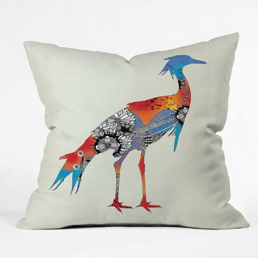 DENY Designs Iveta Abolina Bluebird Indoor/Outdoor Throw Pillow