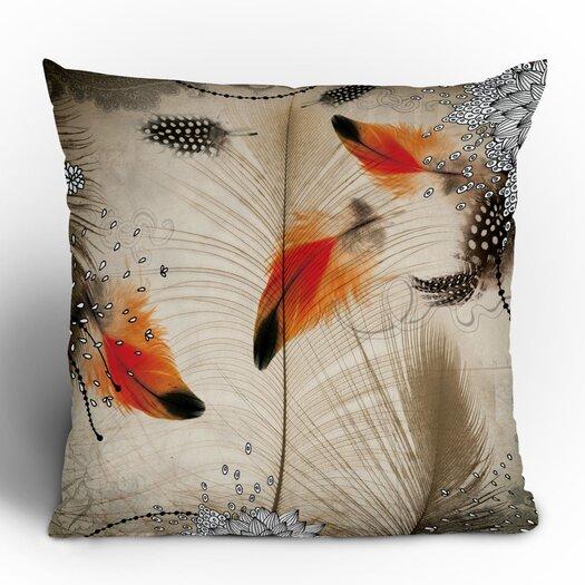 DENY Designs Iveta Abolina Feather Dance Throw Pillow