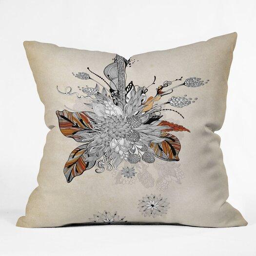 DENY Designs Iveta Abolina Floral 2 Indoor/Outdoor Throw Pillow