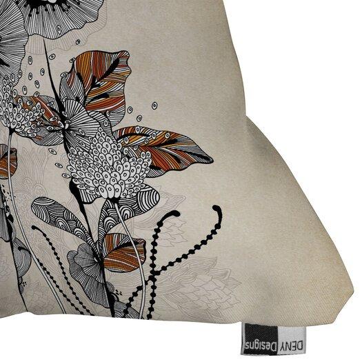 DENY Designs Iveta Abolina Floral 3 Indoor/Outdoor Throw Pillow