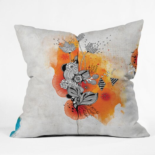 DENY Designs Iveta Abolina Forbbiden Thoughts Indoor/Outdoor Throw Pillow