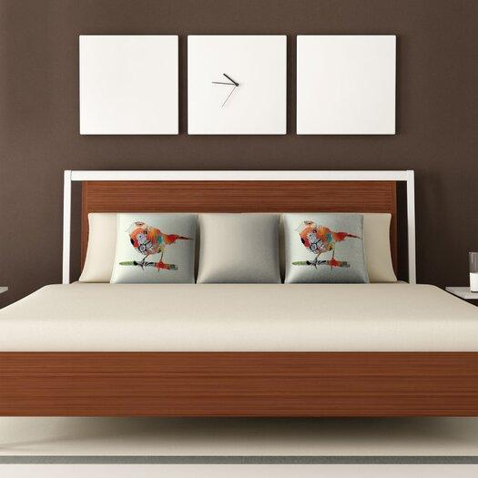 DENY Designs Iveta Abolina Little Bird Throw Pillow