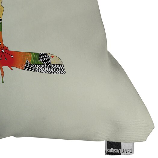 DENY Designs Iveta Abolina Little Bird Indoor/Outdoor Throw Pillow