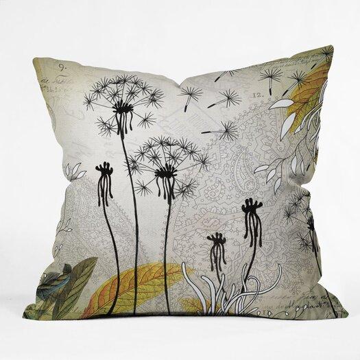 DENY Designs Iveta Abolina Little Dandelion Indoor/Outdoor Throw Pillow