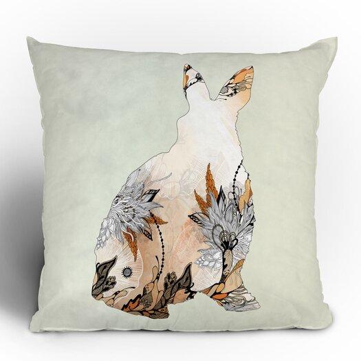 DENY Designs Iveta Abolina Little Rabbit Throw Pillow