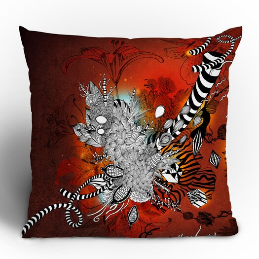 DENY Designs Iveta Abolina Wild Lilly Throw Pillow
