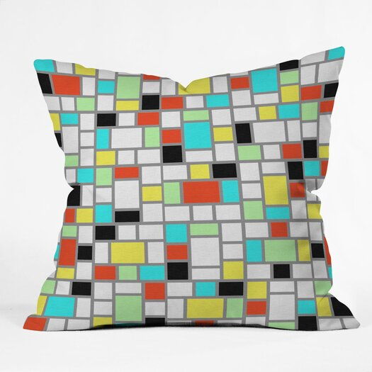 DENY Designs Jacqueline Maldonado Geo Indoor/Outdoor Throw Pillow