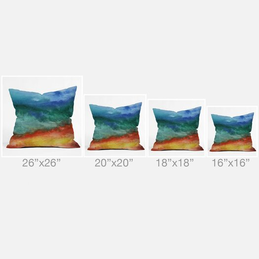 DENY Designs Jacqueline Maldonado Leaving California Throw Pillow