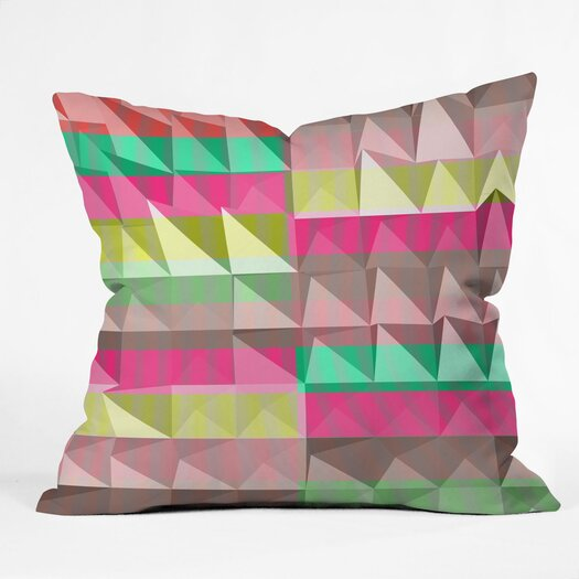 DENY Designs Jacqueline Maldonado Pyramid Scheme Throw Pillow