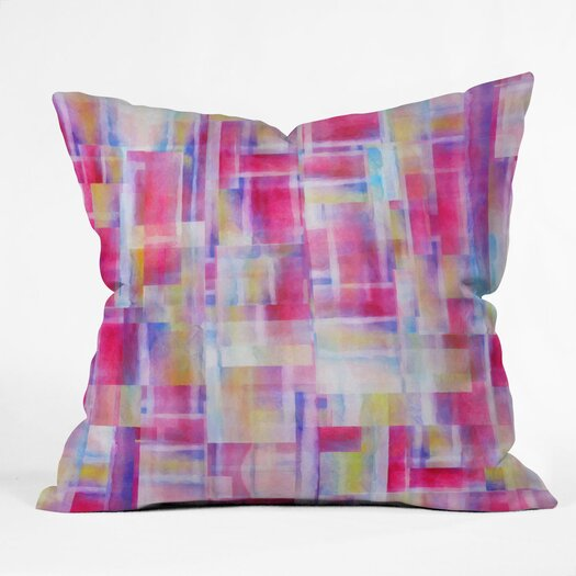 DENY Designs Jacqueline Maldonado Space Between Indoor/Outdoor Throw Pillow