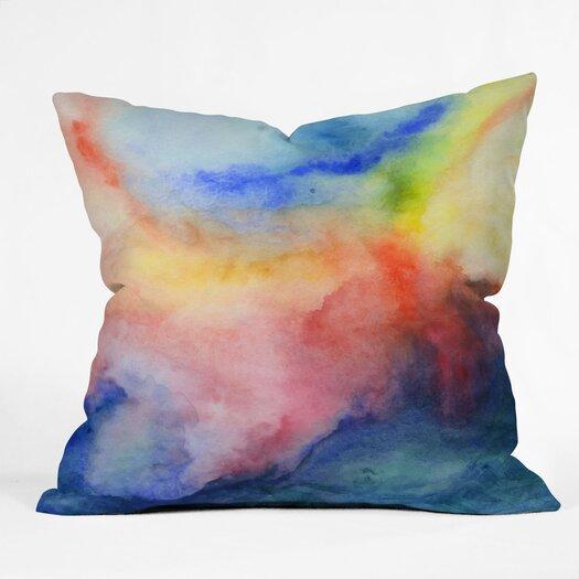 DENY Designs Jacqueline Maldonado Torrent 1 Indoor/Outdoor Throw Pillow