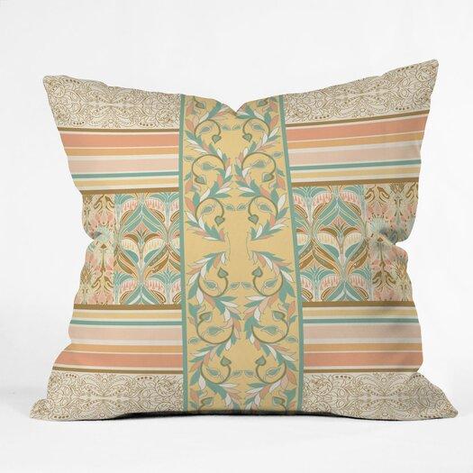 DENY Designs Jacqueline Maldonado Vintage Stripe hrow Pillow